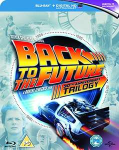 Back to The Future Trilogy [Blu-ray] [1985] [Region Free] UV Digital - £9.99 Prime or Free Delivery on orders over £20