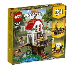 LEGO 31078 Creator Treehouse Treasures Playset, 3-in-1 Model £20 @ Amazon