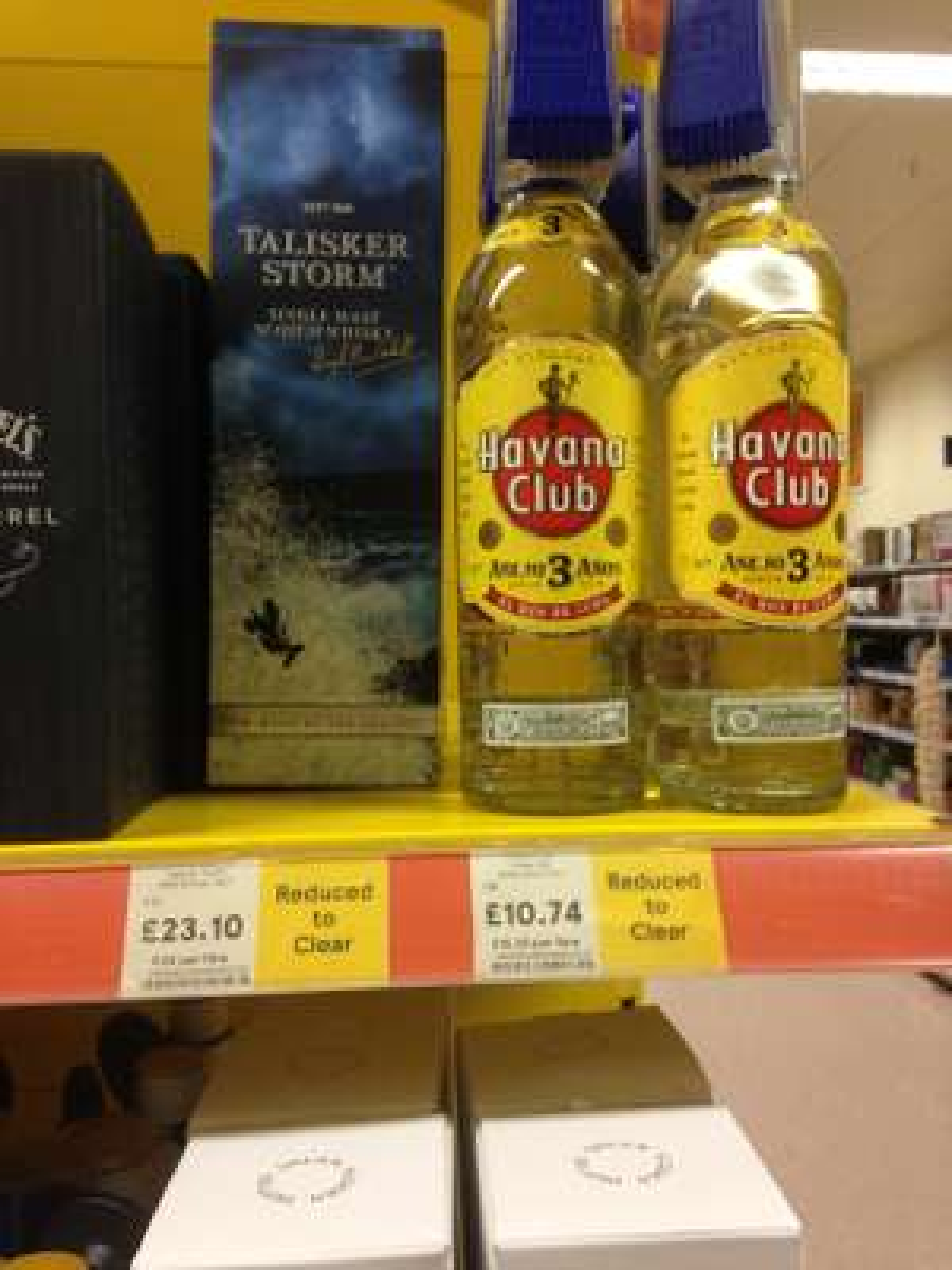 Talisker Storm Single Malt Scotch Whisky, 70cl - £23.10 reduced to clear Tesco
