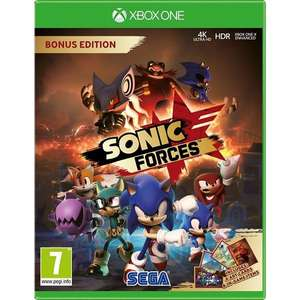 Sonic Forces Bonus Edition Xbox One £14.79 delivered @ 365games