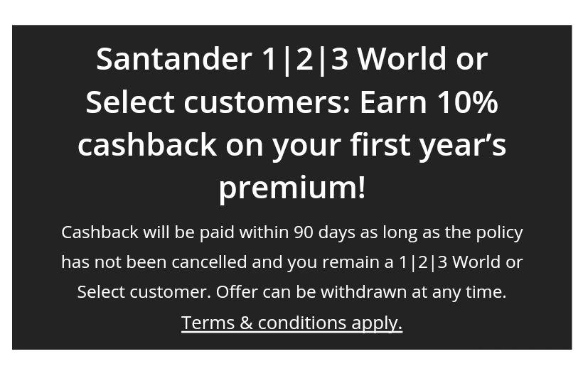 10 % off 1 year premium car insurance