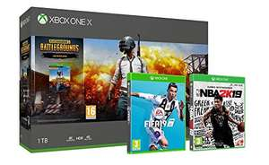 Xbox One X PUBG + FIFA19 + NBA2K19 - £429.99 @  Amazon