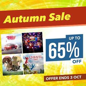 Autumn Sale at PlayStation PSN Store Indonesia - Marvel Vs Capcom £15.16, Mass Effect Andromeda £5.75, Need for Speed Rivals £4.94, DMC5 Definitive Edition £11.14, Megaman Legacy Collection 2 £8.11