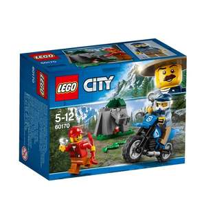 Lego City Police Off Road Chase 60170. 37 piece. Half Price £2.50 @ Morrisons Online/Instore
