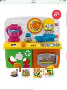 Chicco Talking Kitchen £24.99 @ elc (free c&c)