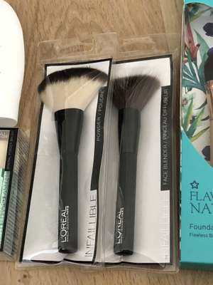 Loreal infallible brushes £1 superdrug