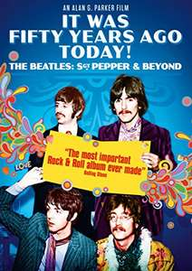 It Was Fifty Years Ago Today! The Beatles: Sgt. Pepper & Beyond [DVD] £1.99 (Prime) / £4.98 (non Prime) at Amazon