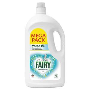 Fairy/ Lenor Fabric Conditioner Mega Pack 3.9L 112 Washes £4 @ Tesco Instore/Online.