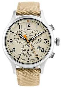 Timex Allied Chrono Khaki Nylon Strap/Natural Dial TW2R47300 £69.99 Dispatched from and sold by tictocwatches Amazon