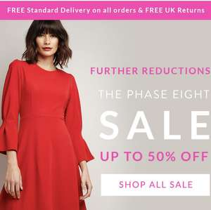 Up to 50% off in the Phase Eight Sale Plus Free Delivery