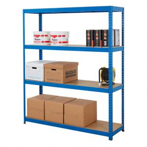 300kg Blue Industrial Shelving - 1780h x 1500w x 450d - £61.20 delivered @ Bigdug