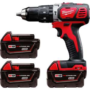 Milwaukee 18V Li-ion Compact Combi Drill (60 Nm) W/ 3 x 3.0Ah Batteries £199.98 But Add A 2p Clip And Get £35 Off £165 @ Toolstation W/ Code SEPT18 (Free Delivery)