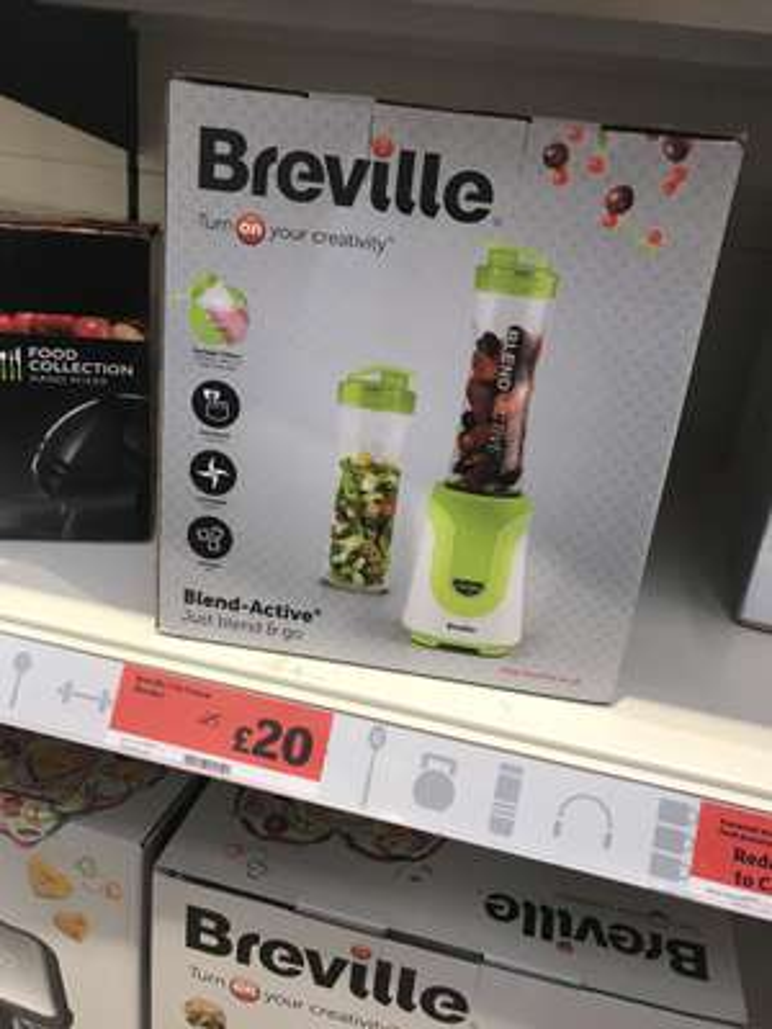 Breville blend active £20 at Sainsburys Hornchurch