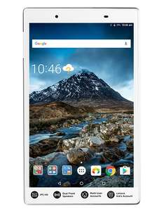 New Lenovo Tab 4 8 IPS HD+ *Dual LTE / 4G* Sim Model with Data VoLTE / Voice Calls! Qualcomm Snapdragon 425 (MSM8917) 2GB 16GB expandable to 128GB MicroSD GPS Android 7.1 5000MaH Battery £94 @ BangGood Flash Deal