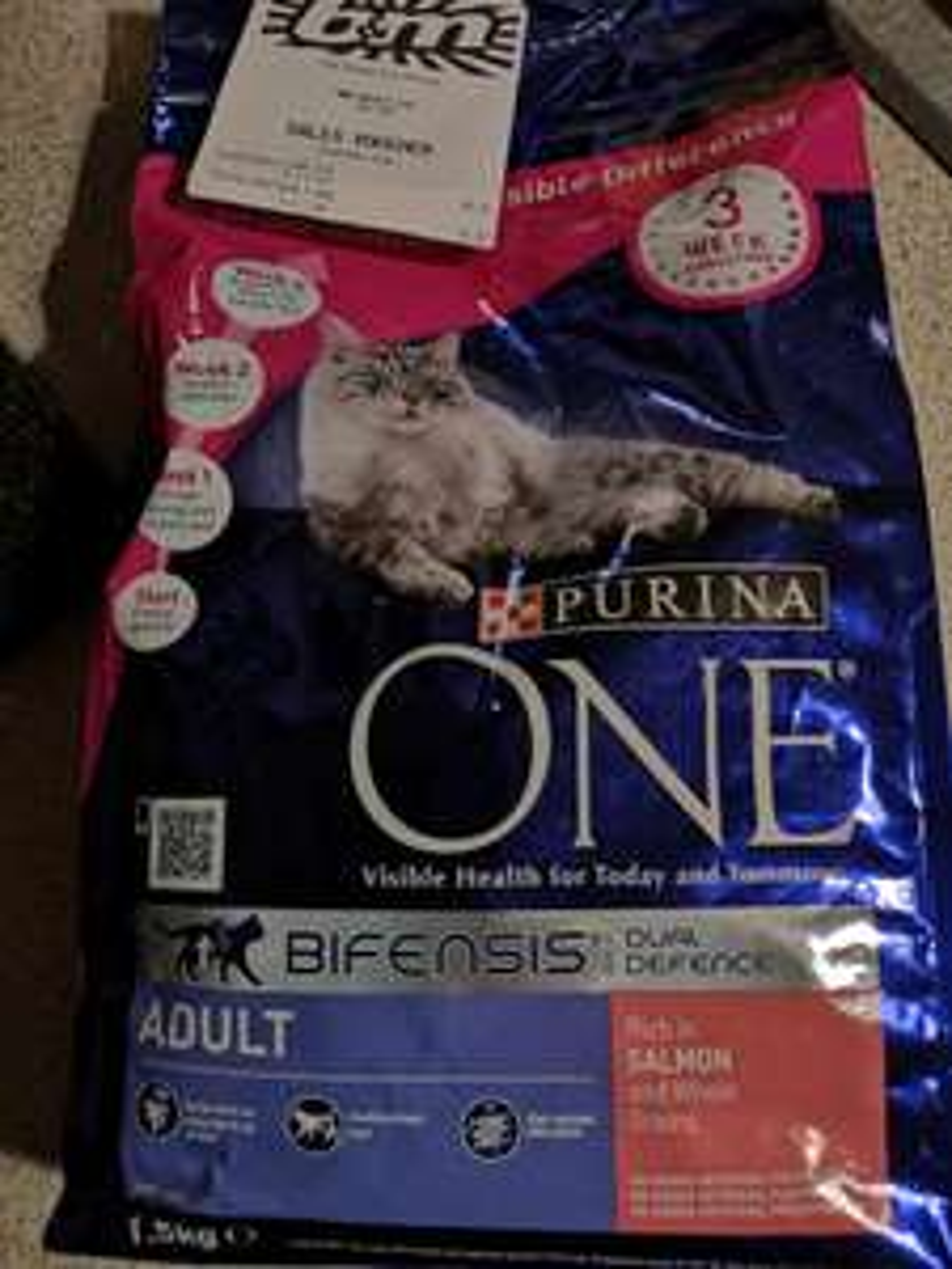 Purina One Bifensis Cat Food 1.5kg - £1 in B&M