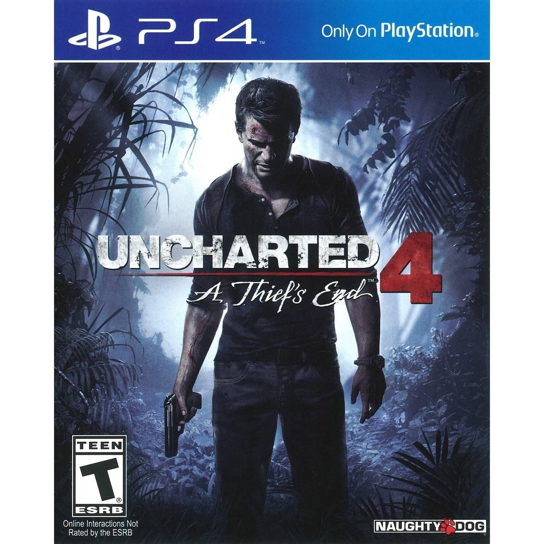 Uncharted 4 PSN Store Turkey £10.33