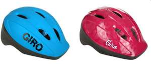 Giro Me2 kids bike helmet blue/pink now reduced further to just £5 each at Halfords. C&C available.
