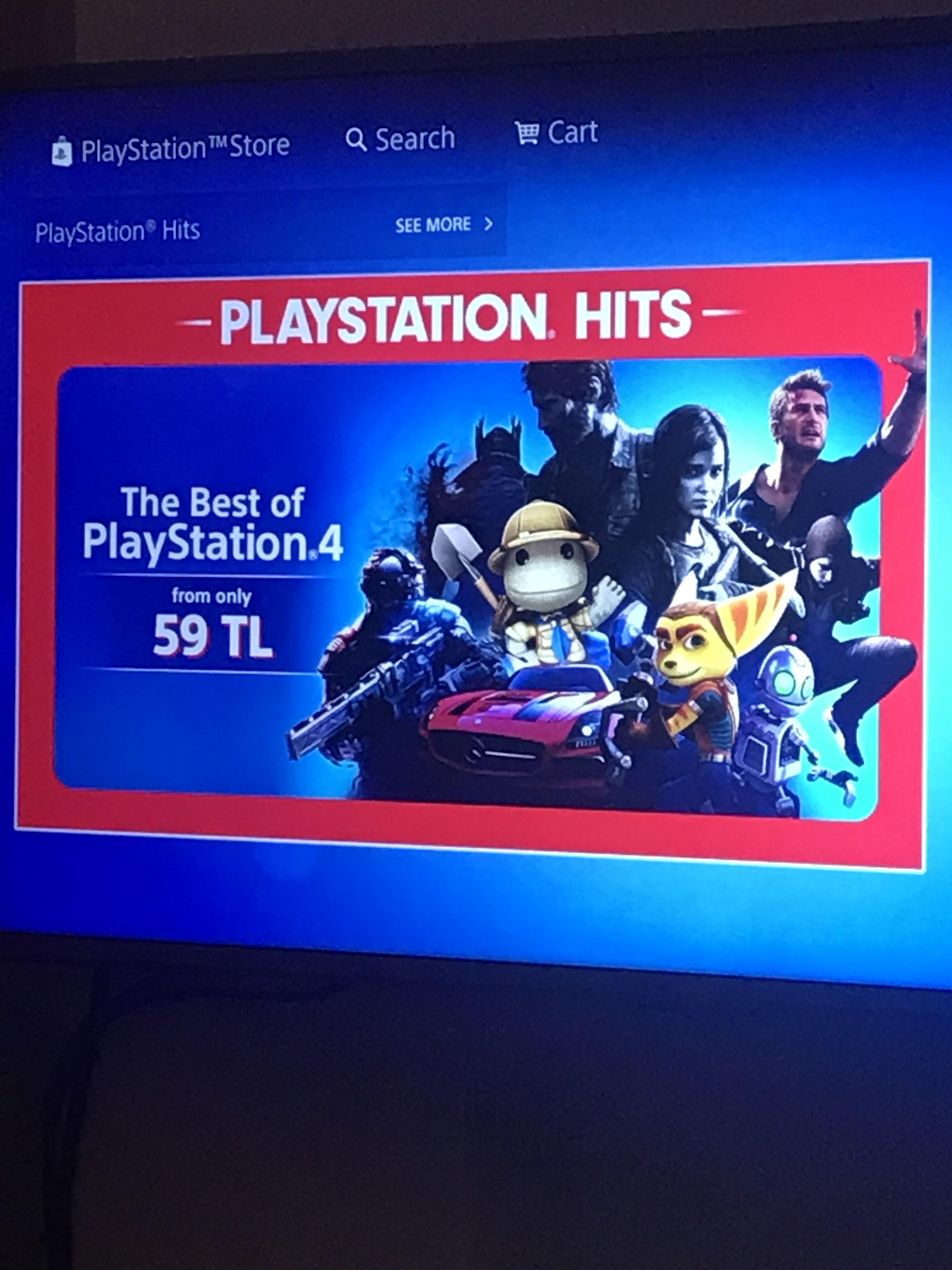Best Of Playstation 4 Digital Games! PSN Store Turkey £6.02