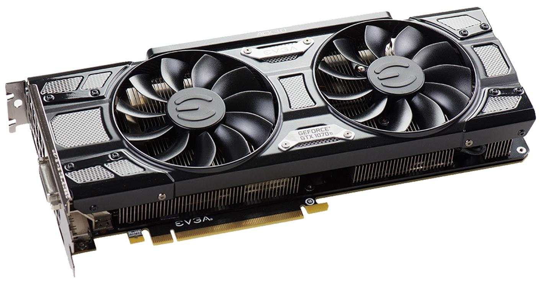 EVGA NVIDIA GeForce GTX 1070 Ti 8GB SC ACX 3.0 Black GAMING Graphics Card £389.99 @ Scan
