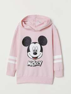 Boys and girls motif hooded tops £6.99 delivered @H&M superman/Rolling Stones/paw patrol/Tom and Jerry/hello kitty/my little Pony/mickey Mouse/Jurassic park