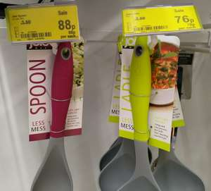 Asda - Joie Ladle 76p, Joie Spoon 75p, Joie Twist Whisk £1