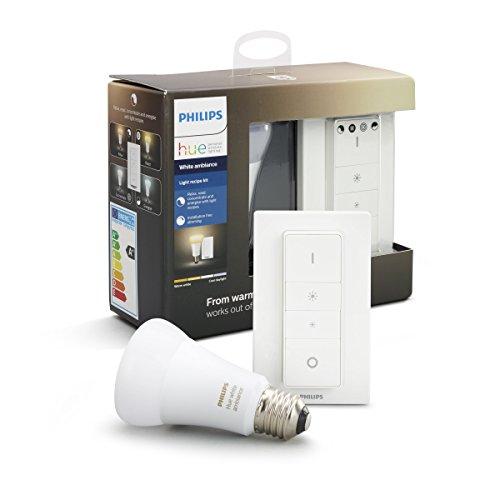 Philips Hue Smart Dimmable LED Smart Light Recipe Kit £29.99 Amazon