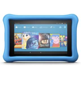 """Fire HD 8 Kids Edition Tablet, 8"""" Display, 32 GB, (Blue/Yellow/Pink) Kid-Proof Case (Previous Generation - 7th) £79.99 @ Amazon TODAY ONLY"""