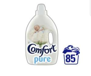 Comfort Concentrate Pure Fabric Conditioner - 85 Washes £3 @ tesco