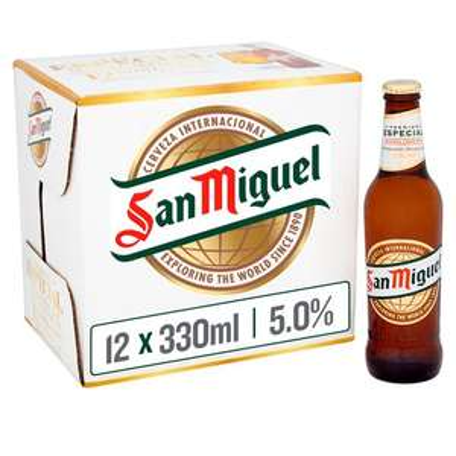 San Miguel Bottles 12 x 330ml £7.00 @ Morrison's Online & Instore