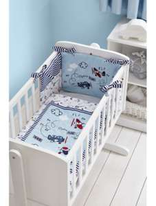 Up Up & Away Crib Bedding Bundle only £4 @ George