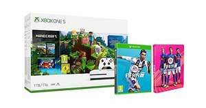 Xbox One S 1TB Minecraft console + FIFA 19 + FIFA 19 Steelbook Deal of the Day £229 @ Amazon (preorder)