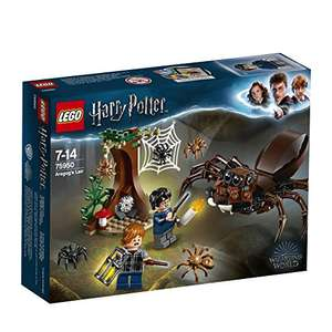 27% OFF on some Lego Harry Potter sets e.g Harry Potter Aragog's Lair Building Set, Spider Toy, Wizarding World Gifts £9.44 prime / £13.93 non prime @ Amazon