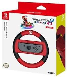 Nintendo Switch Mario Kart 8 Deluxe Wheel Mario Version Nintendo Switch BRAND NEW WITH A 12 MONTH TESCO OUTLET WARRANTY for £10.50