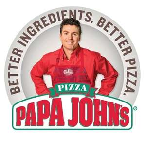 Papa Johns Pizza 40% Off £25 spend via student beans