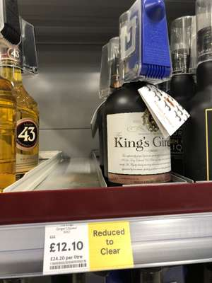 King's Ginger Liquer Reduced from £22 to £12.10 at Tesco