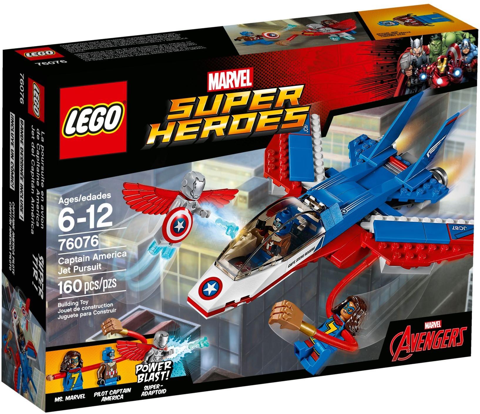 Lego Marvel Super Heroes Captain America Jet Pursuit 76076 £16 @ Hamley's
