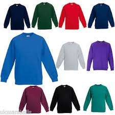 Fruit of the loom jumpers, all colours and sizes £7.25 delivered @ powcog-uk eBay