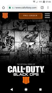 Free Call of Duty comics  to download
