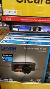 Epson Xp245 printer £12.25 Tesco in-store Bellshill