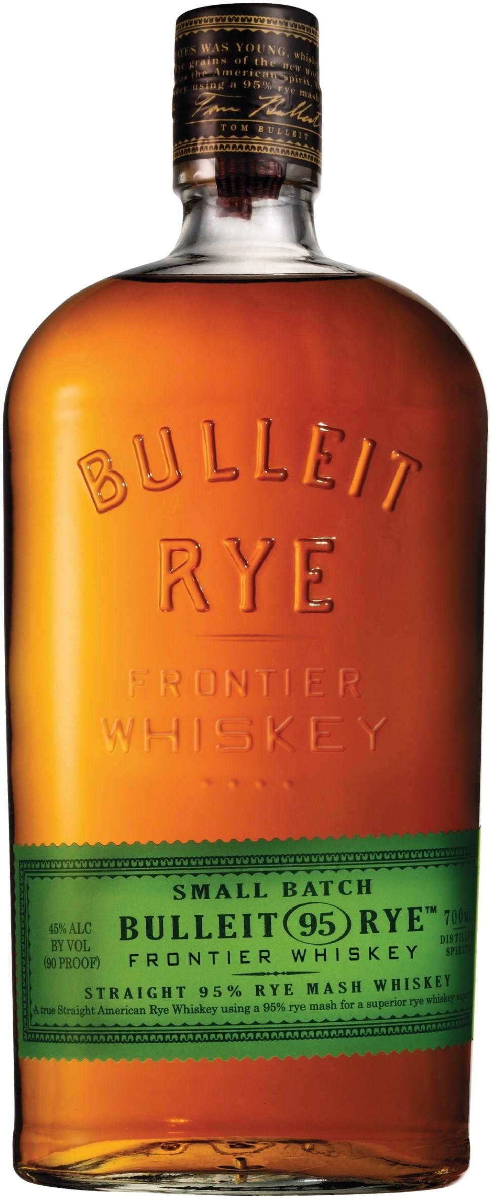 Bulleit Bourbon Rye Whiskey 70cl £20 Morrisons