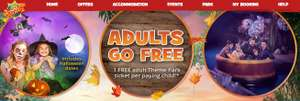 Half term dates - 2 adults 2 kids inc 2 day tickets inc Tiger Rock entry and Howl'o'ween, 1 night hotel & breakfast from £155 / £38.75pp @ Chessington Holidays