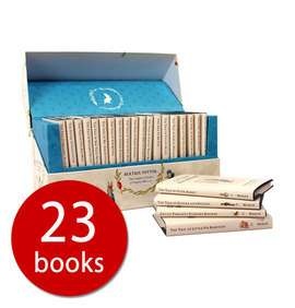 The World of Peter Rabbit Hardback Complete Collection - 23 Books now £25.38 delivered using code at The Book People