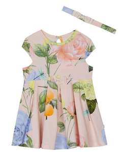 Up to 50% off Ted Baker baby & kids clothes eg girls dress & headband set was £24 now £12 plus free C&C with code / Up to 50% off other categories (see post) @ Debenhams