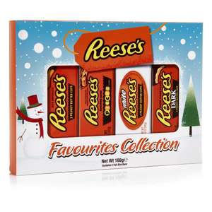 Reeses Favourites Selection Box 168g  £3.00 C&C at Wilko