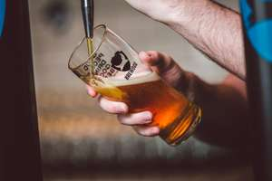 Free beer at Brewdog - just tell staff you are a lover not a hater for a free drink