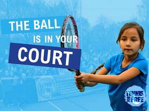 Free coach-led tennis sessions every weekend across the UK