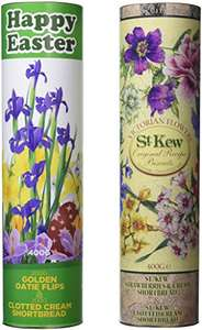 St Kew Products Twin Pack Easter Biscuit Tubes £3.65 amazon add on item & subscribe & save