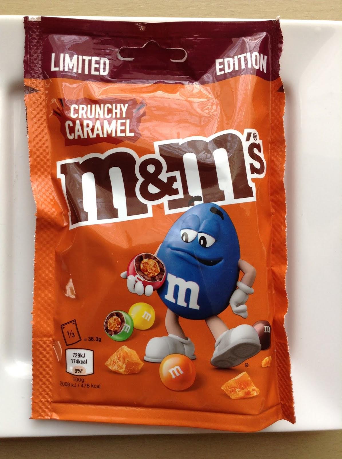Limited Edition M&M's Crunchy Caramel sharing pouch (109g) £1 @ Asda