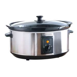 Slow Cooker 6.5L by Goodmans £1 - B&M