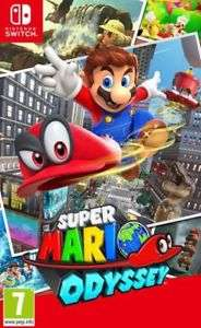 [Nintendo Switch] Super Mario Odyssey - £32.39 - eBay/BidCity